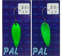 Блесна колеблющаяся FOREST PAL 2,5 гр цвет 10